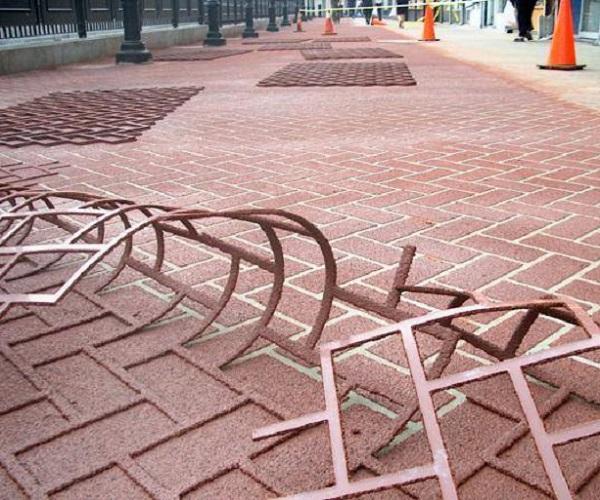 трафареты для тротуарной плитки своими руками